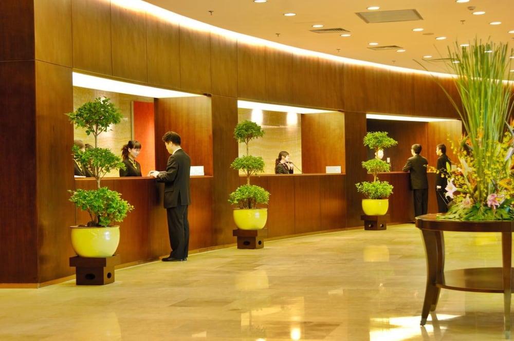 장궈 가든 호텔(Jianguo Garden Hotel) Hotel Image 17 - Reception