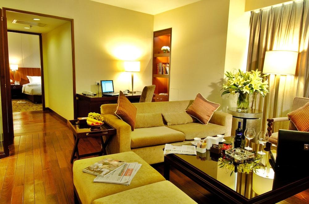 장궈 가든 호텔(Jianguo Garden Hotel) Hotel Image 8 - Guestroom