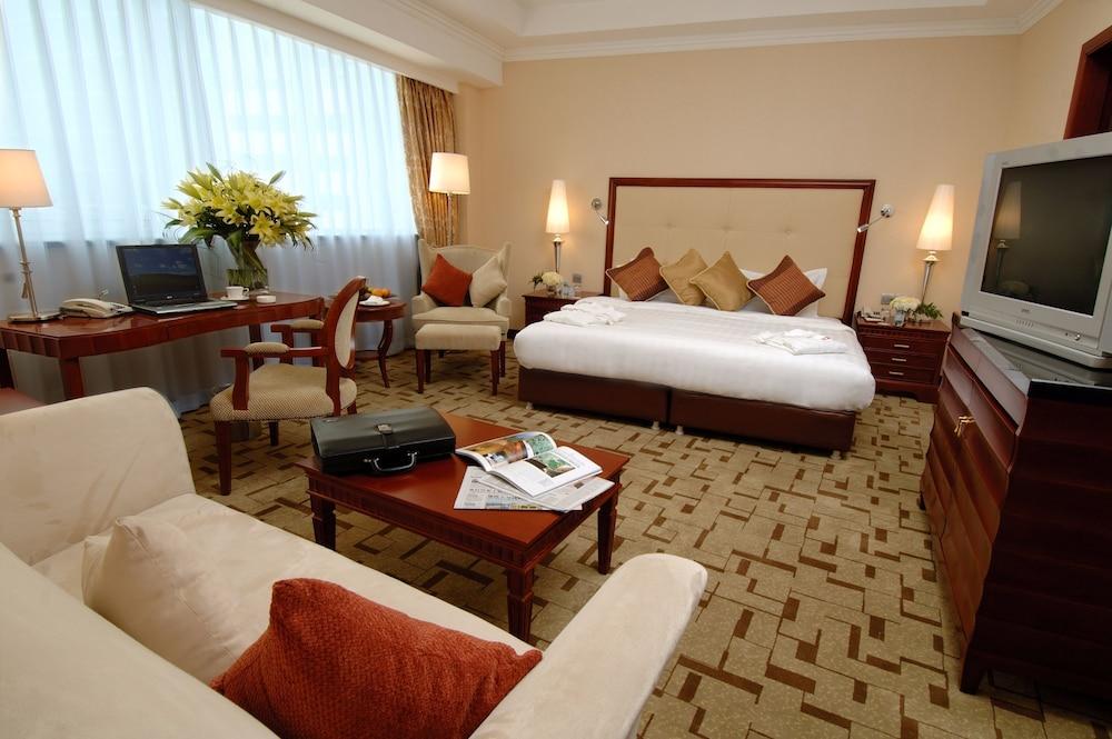 장궈 가든 호텔(Jianguo Garden Hotel) Hotel Image 9 - Guestroom