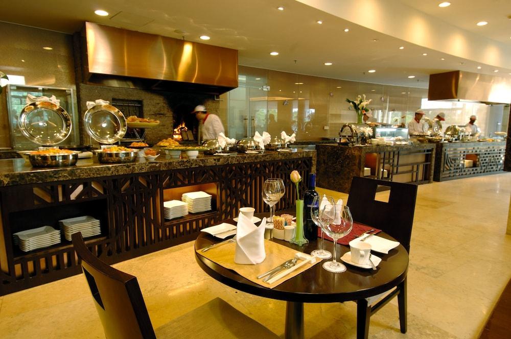 장궈 가든 호텔(Jianguo Garden Hotel) Hotel Image 23 - Restaurant
