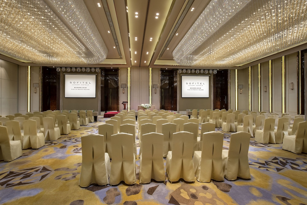 소피텔 시안 온 렌민 스퀘어(Sofitel Xian on Renmin Square) Hotel Image 45 - Meeting Facility
