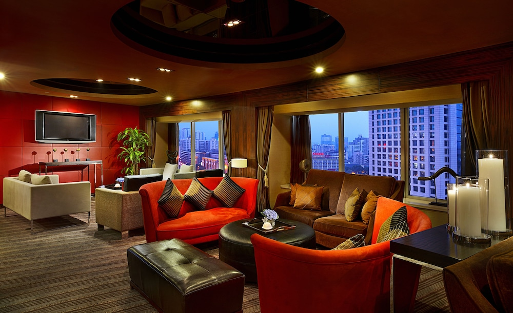 소피텔 시안 온 렌민 스퀘어(Sofitel Xian on Renmin Square) Hotel Image 50 - Executive Lounge