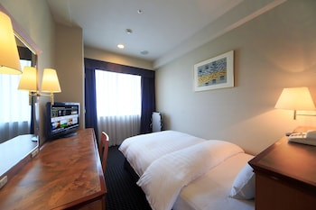 シングルルーム シングルベッド 1 台 禁煙|16㎡|ホテル日航奈良
