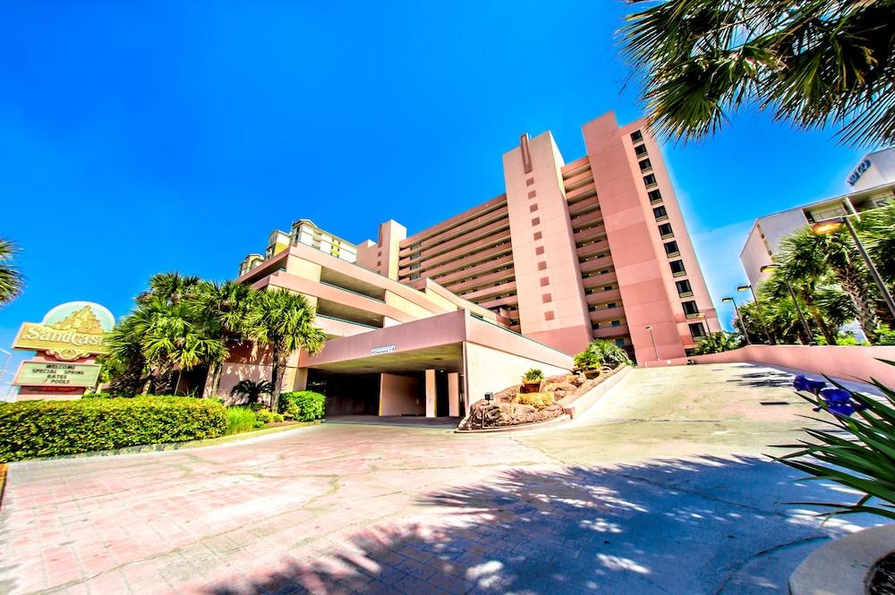 샌드캐슬 오션프런트 리조트 사우스비치(Sandcastle Oceanfront Resort South Beach) Hotel Image 66 - Hotel Front
