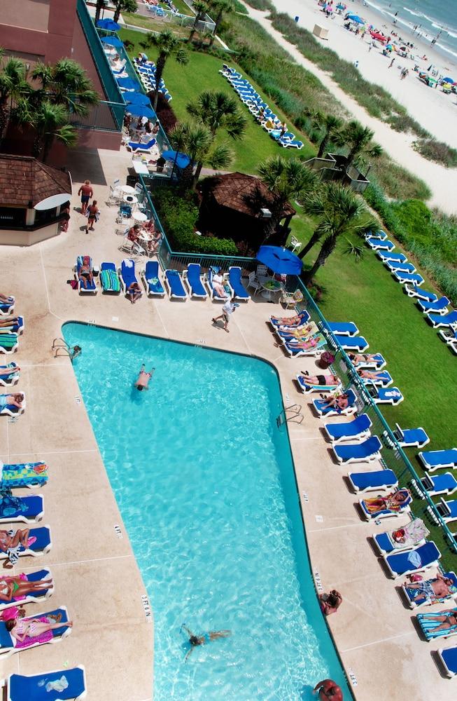 샌드캐슬 오션프런트 리조트 사우스비치(Sandcastle Oceanfront Resort South Beach) Hotel Image 8 - Pool
