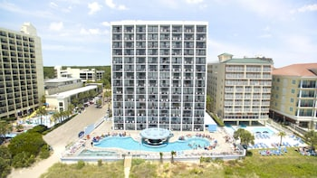Aerial View at hotel BLUE in Myrtle Beach