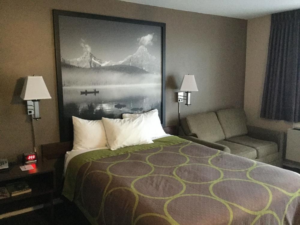 수퍼 8 바이 윈덤 메리트 브리티시컬럼비아(Super 8 by Wyndham Merritt BC) Hotel Image 11 - Guestroom