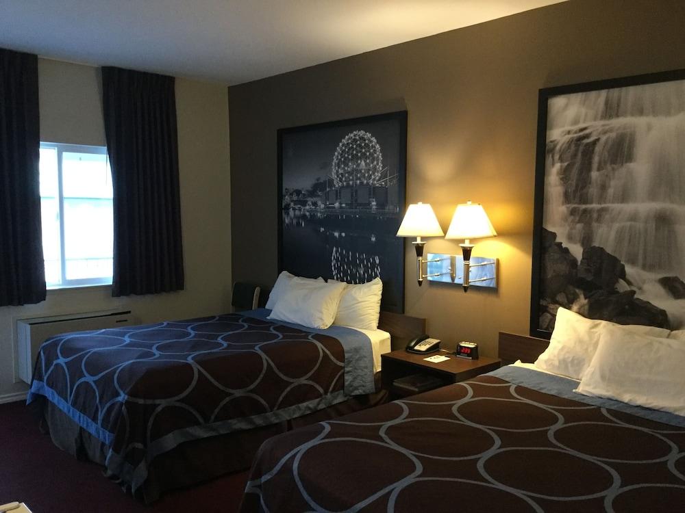 수퍼 8 바이 윈덤 메리트 브리티시컬럼비아(Super 8 by Wyndham Merritt BC) Hotel Image 12 - Guestroom