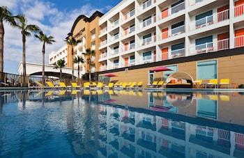蓋維斯頓海灘希爾頓逸林飯店 DoubleTree by Hilton Hotel Galveston Beach