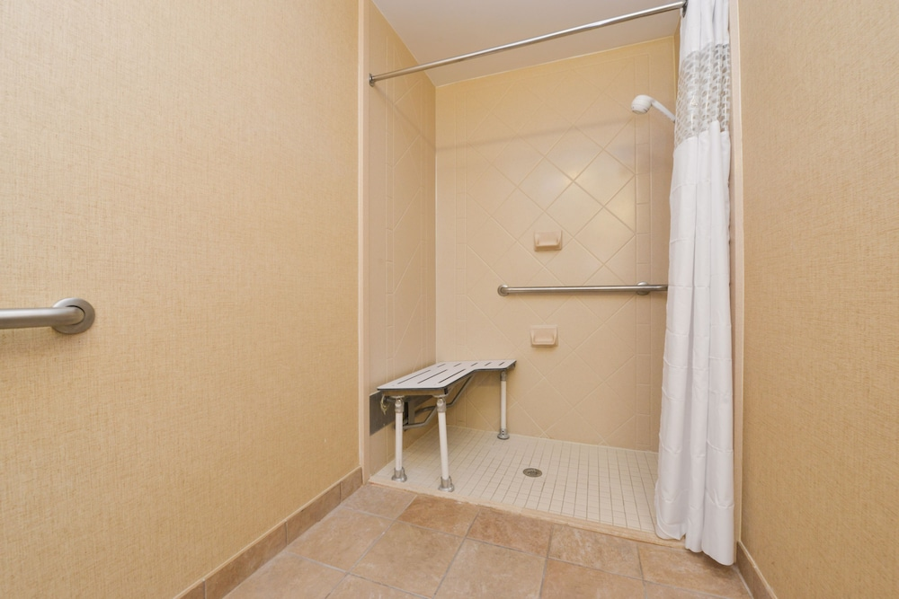 햄프턴 인 & 스위트 레이디 레이크/더 빌리지스(Hampton Inn & Suites Lady Lake / The Villages) Hotel Image 10 - Bathroom Shower