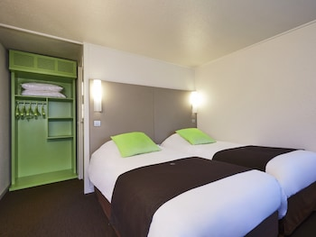 Chambre, 2 lits simples