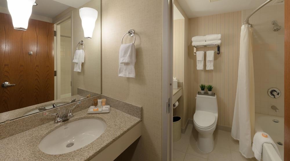 디 인 앳 버지니아 테크 앤드 스켈턴 컨퍼런스 센터(The Inn At Virginia Tech and Skelton Conference Center) Hotel Image 5 - Bathroom