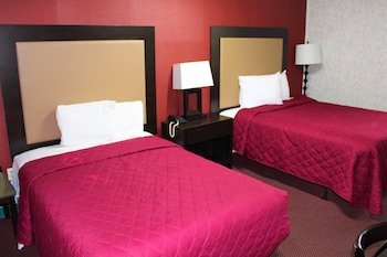 Standard Double Room, 2 Double Beds (Smoking)