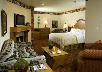 Deluxe King, Sofa Sleeper, Fireplace, Sitting Area