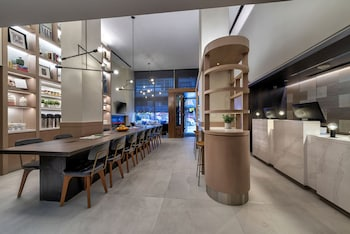 Check-in/Check-out Kiosk at Citadines Connect Fifth Avenue New York in New York