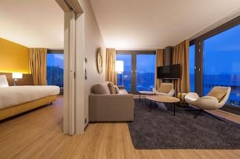 Panoramic Süit, 1 Yatak Odası, Göl Manzaralı
