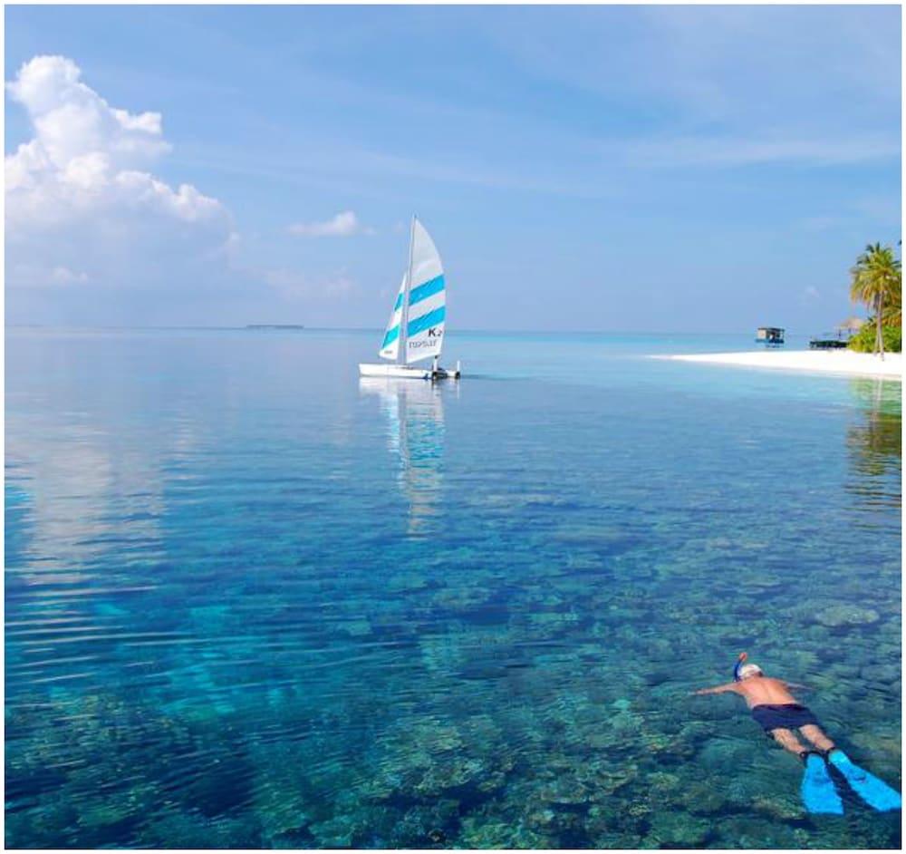 미리히 아일랜드 리조트(Mirihi Island Resort) Hotel Image 79 - Beach