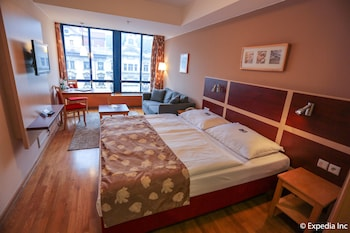 Twin Room, City View (Wenceslas square view)