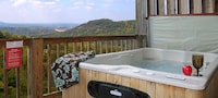 Luxury Cabin, 1 Bedroom, Hot Tub, Mountain View (Sleeps up to 6 )