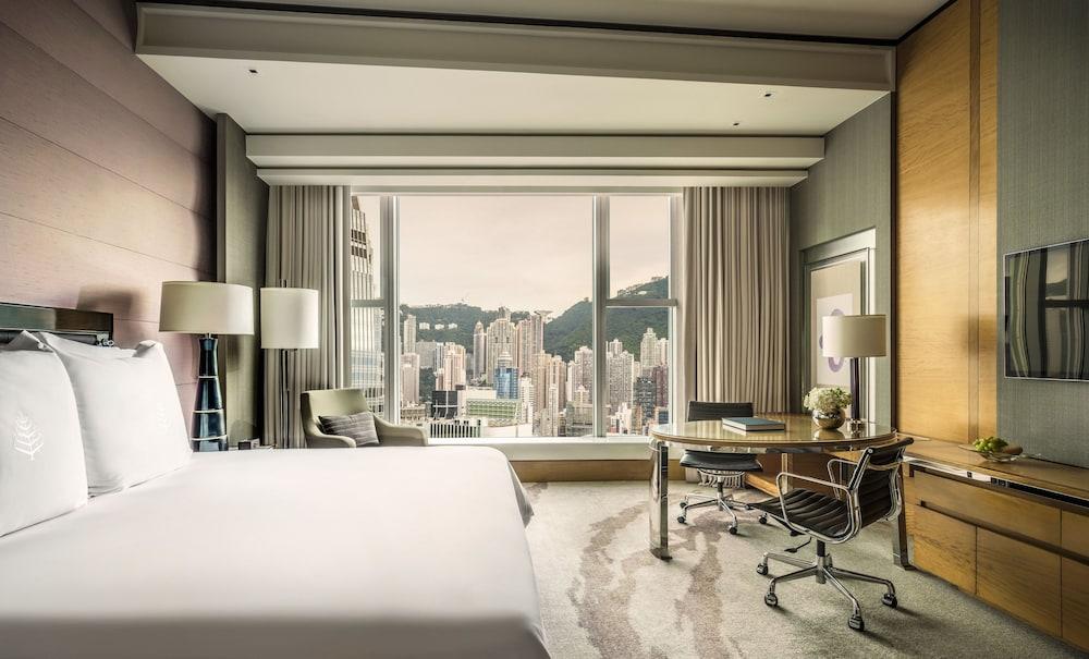 포 시즌스 호텔 홍콩(Four Seasons Hotel Hong Kong) Hotel Image 6 - Guestroom