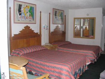 Guestroom at Ambassador Inn in Kissimmee
