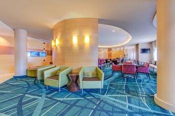 Lobby Lounge at SpringHill Suites by Marriott Arundel Mills BWI Airport in Hanover