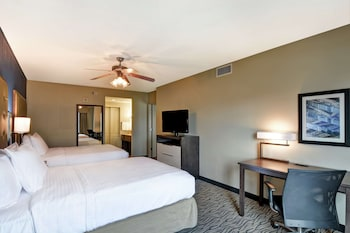 Premium Room, 2 Queen Beds, Accessible (Mobility & Hearing, Roll-in Shower)