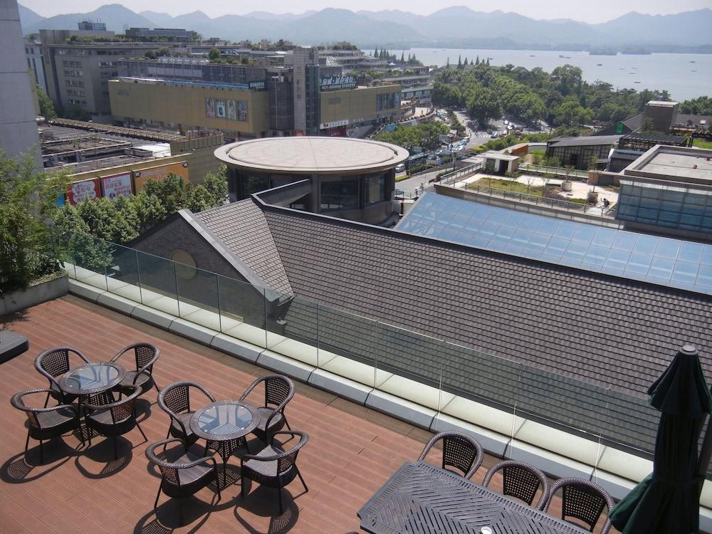 항저우 싱챠오 호텔(Hangzhou Xinqiao Hotel) Hotel Image 58 - Terrace/Patio