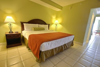 Guestroom at Tidelands Caribbean Hotel and Suites in Ocean City