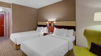 City Room, 2 Twin Beds, Non Smoking, City View