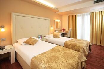 Standard Tek Büyük Veya İki Ayrı Yataklı Oda, Balkon, Park Manzaralı
