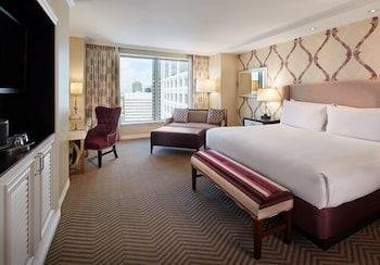 Guestroom at Harrahs New Orleans Casino & Hotel in New Orleans