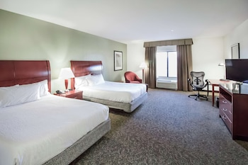 Junior Suite, 2 Queen Beds, Mobility Accessible, Roll-In Shower