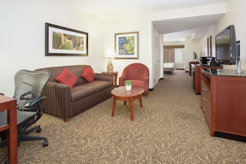 Junior Suite, 1 King Bed, Mobility and Hearing Accessible, Bathtub