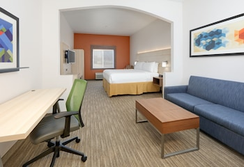 Guestroom at Holiday Inn Express Hotel & Suites Burleson/Ft. Worth in Burleson