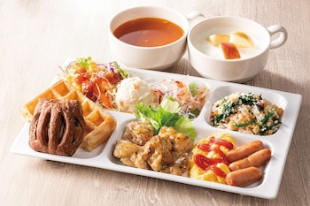 COMFORT HOTEL HIROSHIMA OTEMACHI Breakfast Area