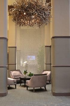 Lobby at The Sofia Hotel in San Diego