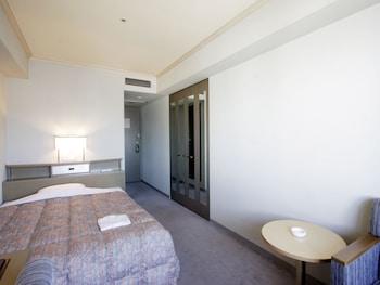 セミダブルルーム 喫煙 セミダブルベッド1台|17㎡|ホテルパールシティ神戸