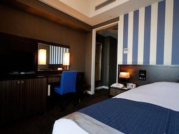スタンダード ダブルルーム 禁煙 (ベッド幅 140cm)|ホテルモントレ京都
