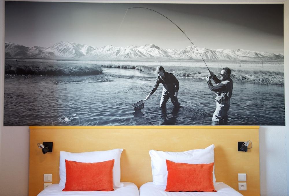 아카 로지  리옹 에(Aka Lodge Lyon Est) Hotel Image 4 - Guestroom