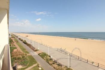 Beach/Ocean View at The Barclay Towers Resort Hotel in Virginia Beach