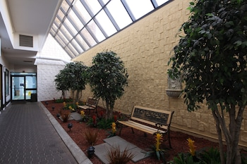 Lobby Sitting Area at The Barclay Towers Resort Hotel in Virginia Beach