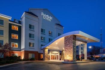 格林斯博羅溫多弗萬豪費爾菲爾德套房飯店 Fairfield Inn & Suites by Marriott Greensboro Wendover