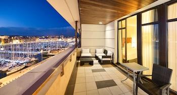 Süit, 1 Yatak Odası, Teras (port View)