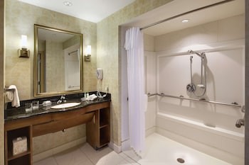 Suite, 1 King Bed, Smoking, Accessible, Fireplace