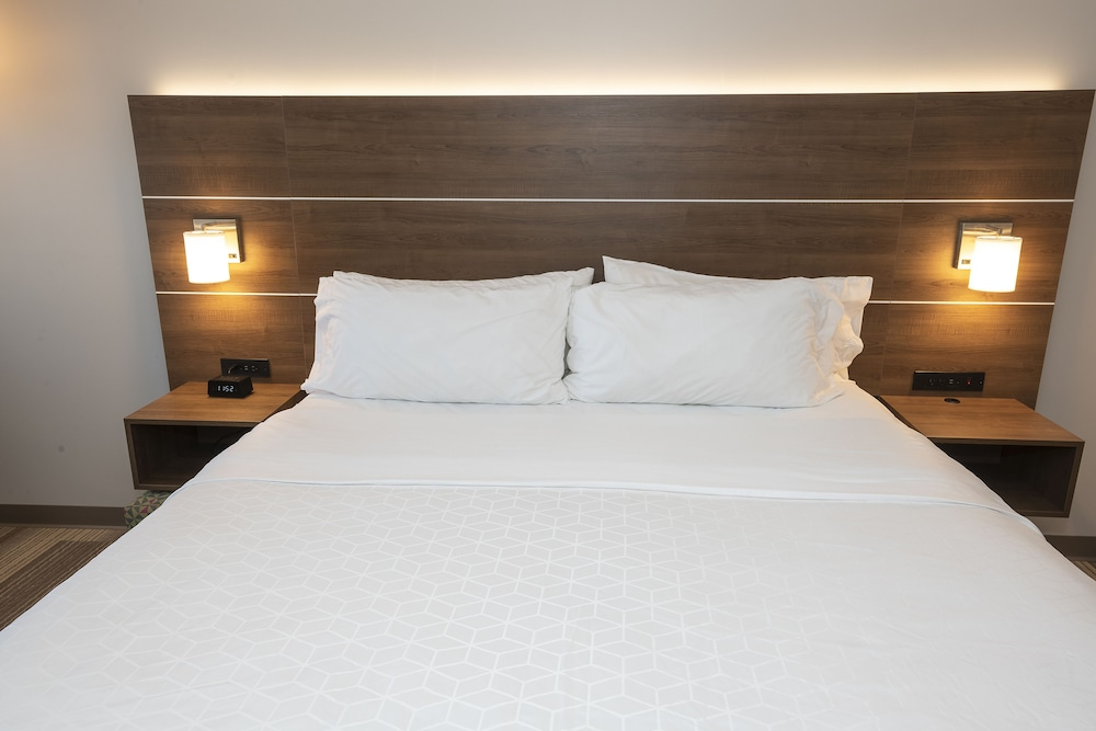 Suite, 1 King Bed, Accessible (Roll Shwr)