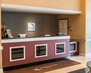 Lobby at Sleep Inn And Suites Laurel in Laurel