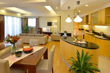 Executive Suite, 2 Bedrooms, Balcony