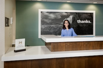 Check-in/Check-out Kiosk at Hampton Inn & Suites Las Vegas-Red Rock/Summerlin in Las Vegas