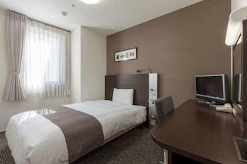 ルーム ダブルベッド1台|コンフォート ホテル 仙台西